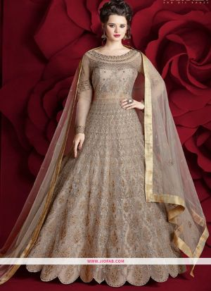 Most Demanding Chiku Embroidered Heavy Net Gorgeous Salwar Suit