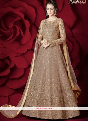 Most Demanding Chiku Embroidered Heavy Net Graceful Salwar Suit