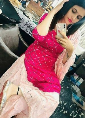 Mostly Liked Magenta Pink Hand Work Party Wear Salwar Suit