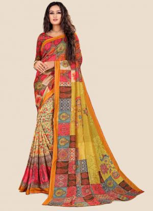 Multi Color New Arrival Katki Silk Saree Collections