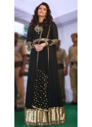 New Arrival Black Ladies Aishwarya Salwar Suit