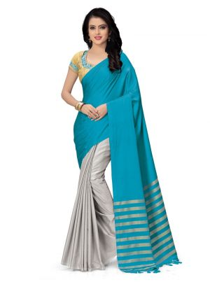 New Arrival Multi Color Traditional Saree