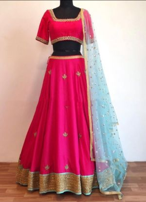 Pink Beautiful Rich Lehenga Choli Collection