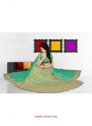 Rama Bridal Heavy Net Chaniya Choli