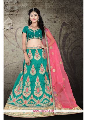 Rama Bridal Semi Stitched Chaniya Choli