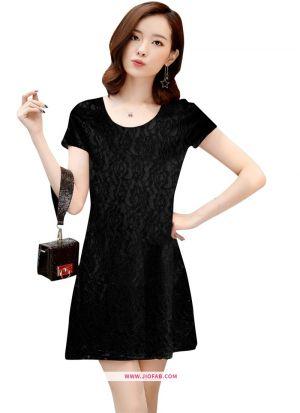 Rasal Western Wear Dress In Black Color
