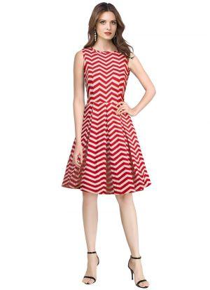 Red Exclusive Designer Dress