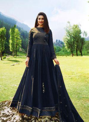 Summer Special Navy Georgette Salwar Suit