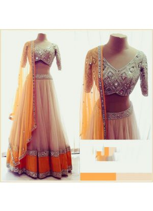 Yellow New Hit Design Lehenga Choli Collection