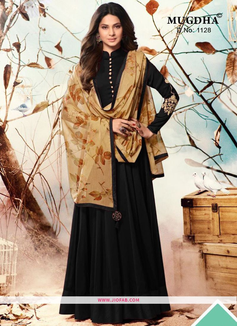 ad9e936553 Online Purchase Diwali Collection Black Latest Mugdha 1128 Presents Salwar  Suit