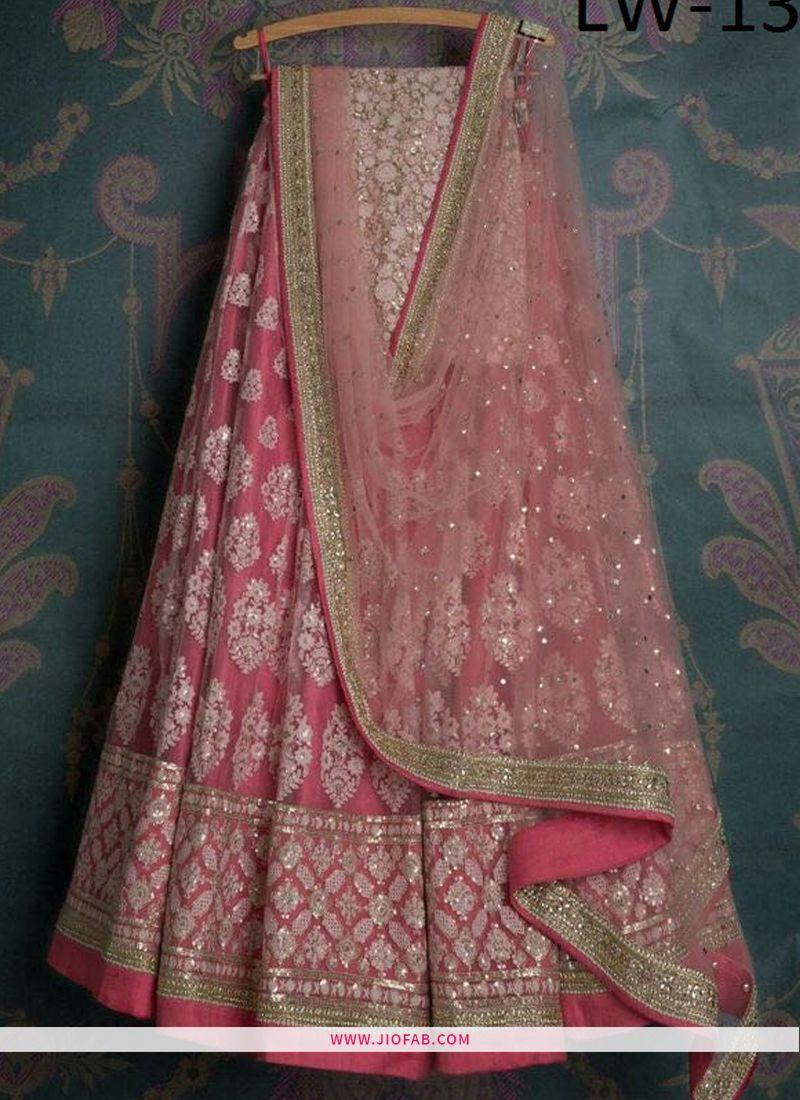 a979835c67 Buy Light Pink Beautiful Boutique Lehenga Online India