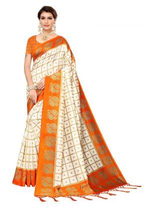Art Silk Printed Fanta Designer Traditional Saree