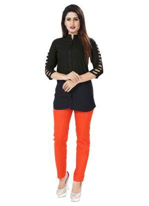 Black Color Cotton New Trend Shirt