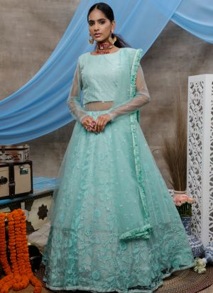 Blooming Multi Colour Georgette Anarkali Suit With Net Dupatta