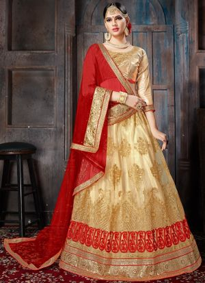 Chiku Designer Lehenga Choli For Wedding
