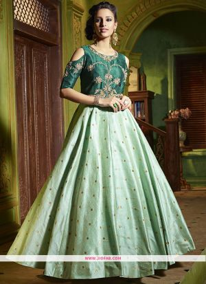 Designer Latest New Arrival Traditional Pista Gown
