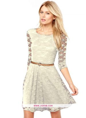 Exclusive Designer Creame Dress