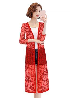 Exclusive Designer Red Short Shrug