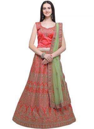 Gajari Designer Lehenga Choli For Wedding