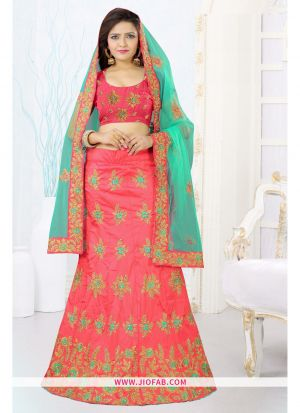 Gajari Heavy Bangalore Silk Anarkali Lehenga