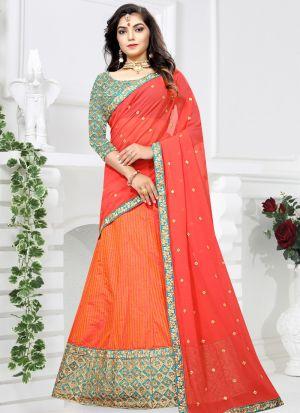 Gajari Sana Silk Zari Work Designer Lehenga Choli