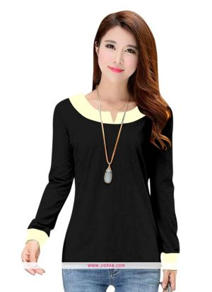 Girls Latest Trendy High Quality Fashionable Tipsy Black Top