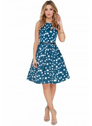 Green Party Wear Dresses For Womens