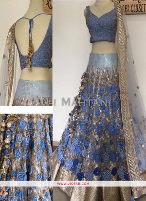KT 2080 Sequnce Work Multi Color Cocktail Boutique Lehenga Choli