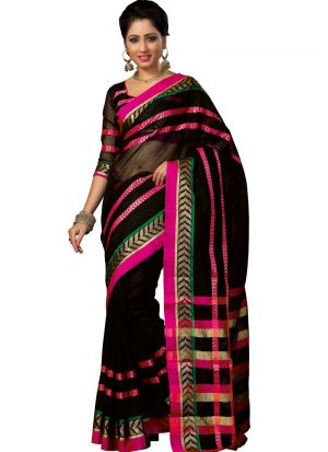 Latest Collection Multi Color Casual Saree