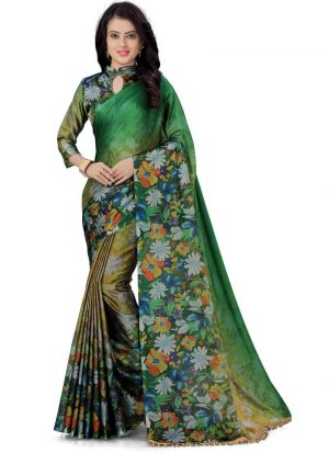 Latest Collection Multi Color Indian Saree