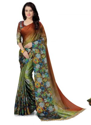 Latest Collection Multi Color Traditional Saree