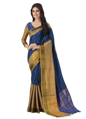 Latest Fancy Multi Color Classic Saree Collection