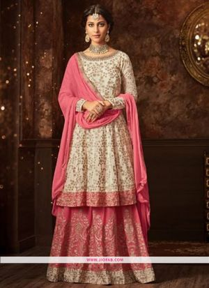 Maisha 5807 Light Pink Georgette Embroidered Traditional Salwar Suit