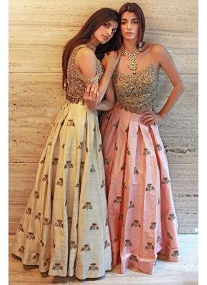 Malbari Silk Pink Hit Designer Lehenga Choli
