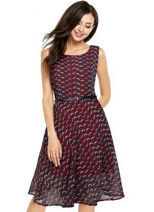Maroon Midi Dresses