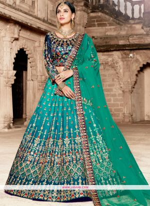 Multi Color Dori Work Designer Lehenga Choli