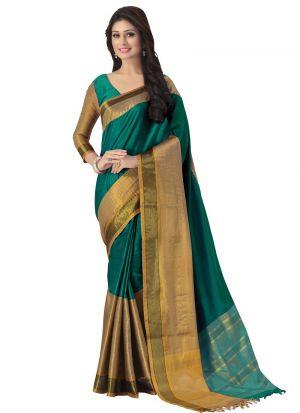 Multi Color Latest Design Party Wear Saree