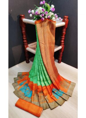 Multi Color Pashmina Silk Printed Designer Saree