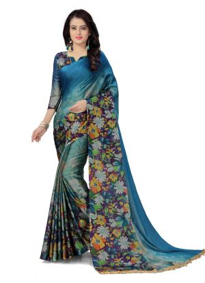 New Arrival Multi Color Indian Style Saree