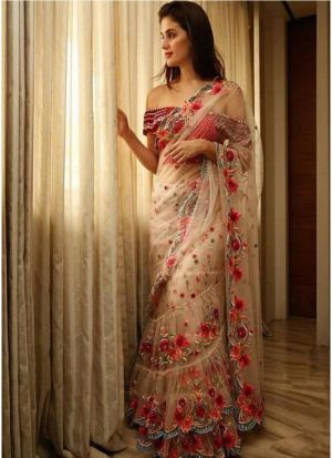 New Launching Superhit Designer Multi Color Bollywood Saree Collection