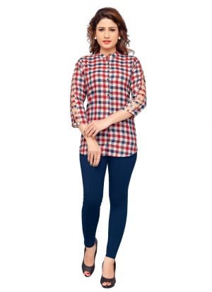 Pink Color Ladies Casual Shirt
