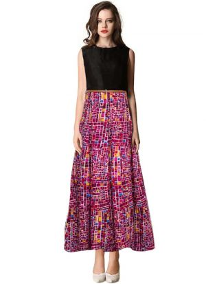 Pink Maxi Dress For Women
