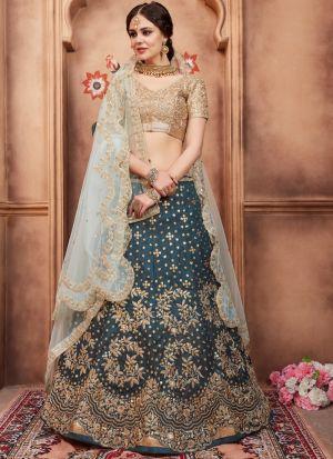 Rama Color Art Silk Florals Vol 2 Designer Lehenga Choli