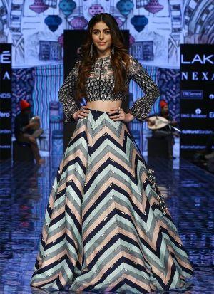 Woman'S Designer Party Wear Multi Color Lehenga Choli