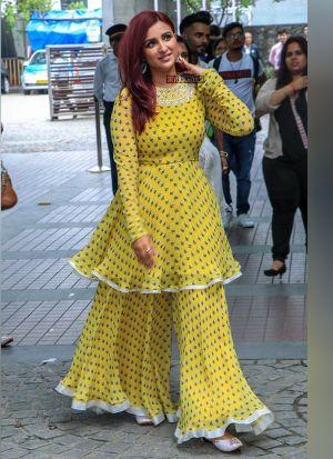 Yellow Parineeti Chopra Sharara