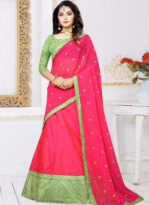 Zari Work Rani Wedding Designer Lehenga Choli