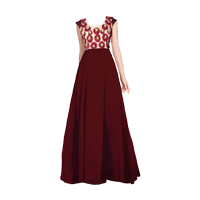 Party Wear Gown With Lowest Price in India