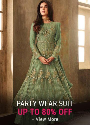 Partywear Salwar Suits Online