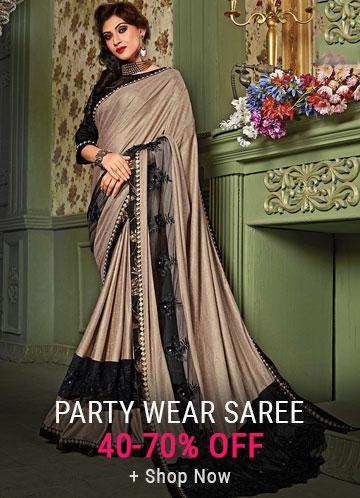 Partywear Saree Online