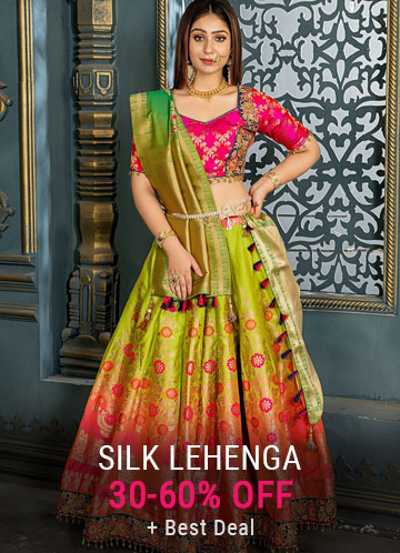 Silk Lehenga Choli Online